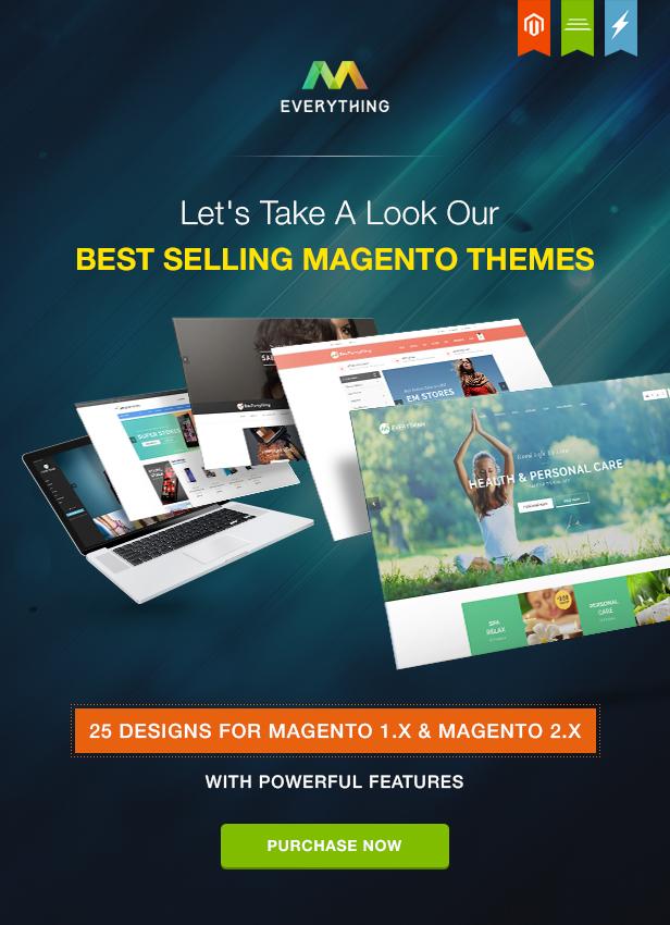 Beste Magento 1.9 & Magento 2.1 Themen Alles