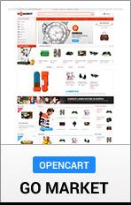 "OpenCart GoMarket ""title ="" OpenCart GoMarket"