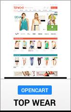 """OpenCart TopWear """"title ="""" OpenCart TopWear"""