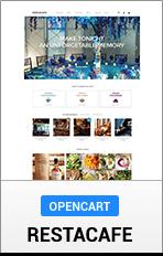 "OpenCart RestaCafe ""title ="" OpenCart RestaCafe"