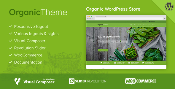 BIO | Biobauernhof & Food Business WordPress Template