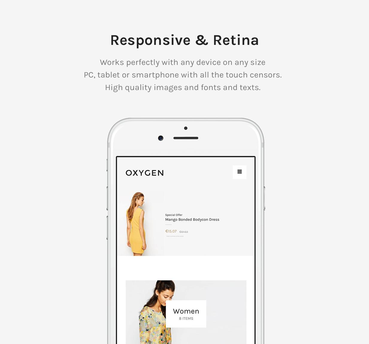 Responsive und Retina