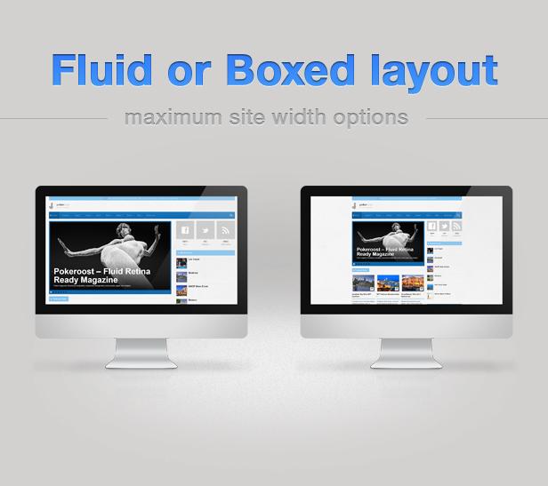 reagierende Flüssigkeit und Boxed Design