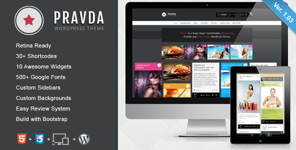 WorldNews - Responsives WordPress Blog  Magazin