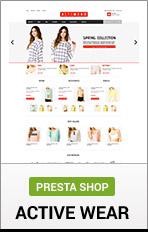 "PrestaShop Actiwear ""title ="" PrestaShop Actiwear"