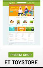 """PrestaShop Toy Store """"title ="""" PrestaShop Spielzeugladen"""