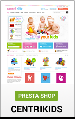 "Prestashop Centrikids ""title ="" Prestashop Centrikids"