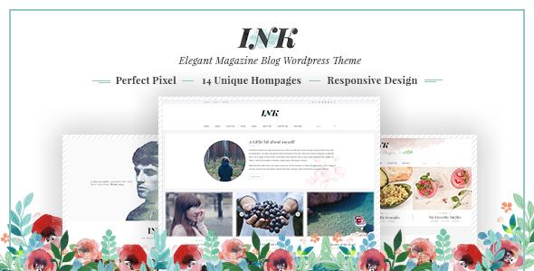 Ink - Magazin WordPress Layout