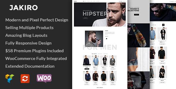Jakiro - Modeshop-WordPress-Template