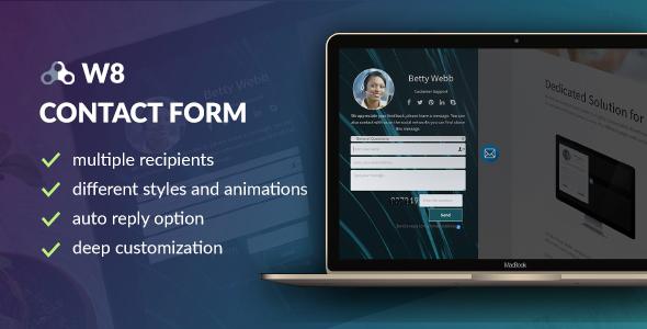 W8 Kontaktformular - WordPress Kontaktformular Plugin