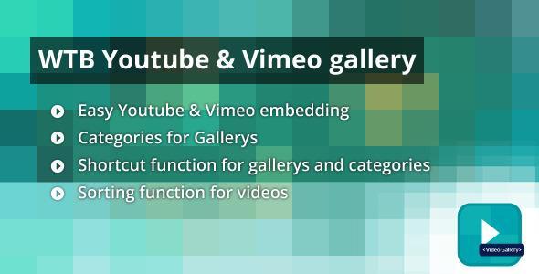WTB Youtube & Vimeo Galerie