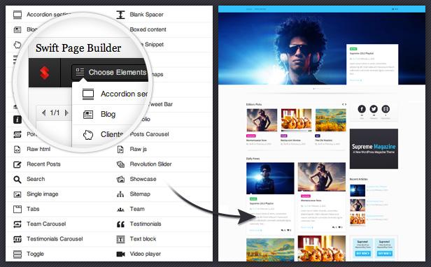 Swift Page Builder