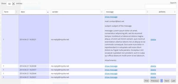 Wordpress Ajax Kontaktformular mit Anhängen 2.0