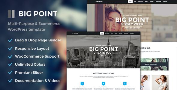 Big Point - Mehrzweck- und E-Commerce-Vorlage