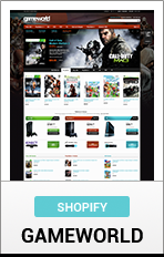 "Shotify GameWorld ""title ="" Shopify GameWorld"
