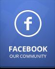 Werde ein Fan auf Facebook