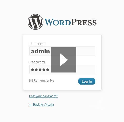 WordPress-Vorlage Victoria
