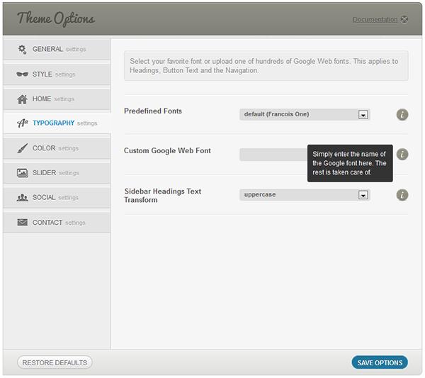 Soundboard - ein Premium Responsive Musik WordPress Layout