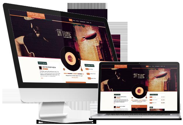 Musik-WordPress-Vorlage