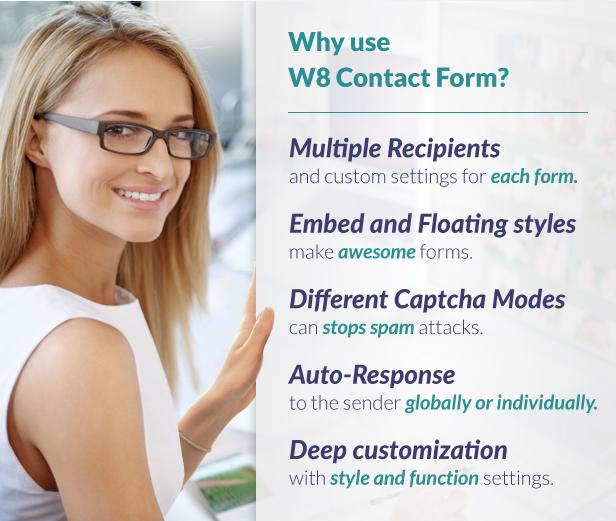 W8 Kontaktformular-Funktionen