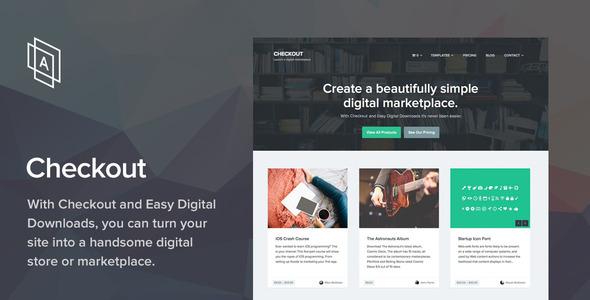 Kasse - WordPress eCommerce Layout