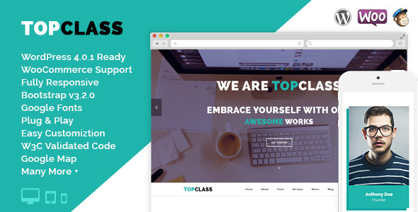 TopClass - Mehrzweck Business & Corporate Layout
