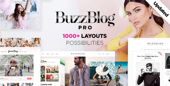 BuzzBlog - Massive Mehrzweck WordPress Blog Vorlage - Agentur zweigelb