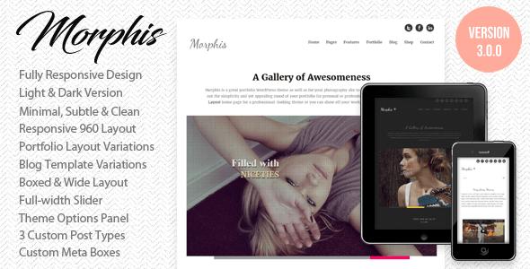 Morphis – Responsives WordPress Vorlage | Agentur zweigelb