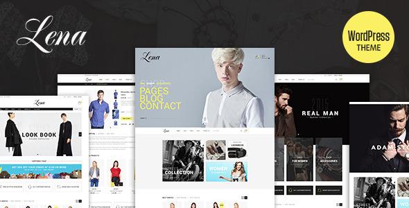 Lena - Geschäft WordPress WooCommerce Vorlage