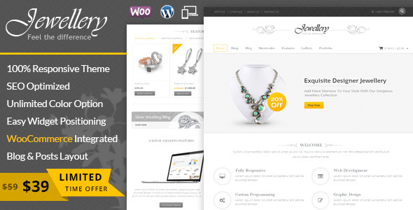 Glanz - WooCommerce Responsive Template