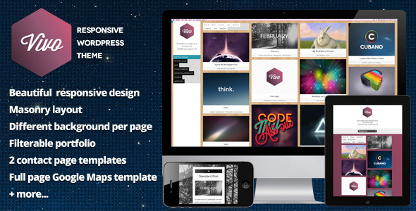 Vivo - Responsives WordPress-Portfolio