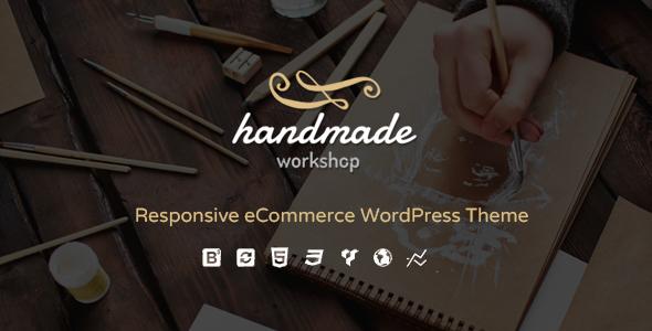Handarbeit - Geschäft WordPress WooCommerce Vorlage