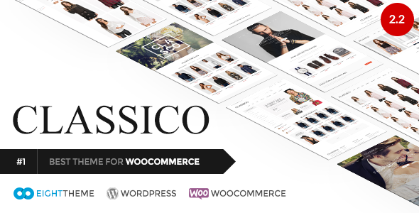 Classico - Responsives WooCommerce WordPress Template