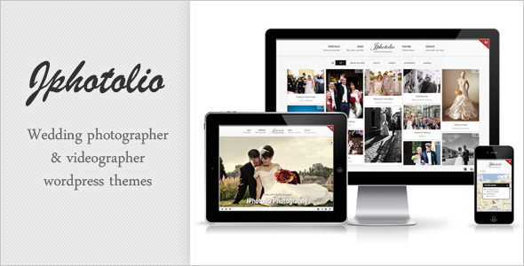 JPhotolio: Responsive Hochzeitsfotografie WP Template