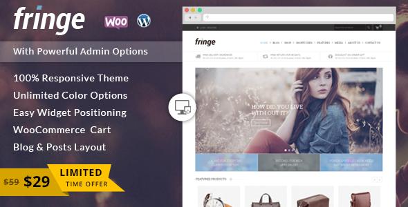 Fringe - WooCommerce Responsives Thema
