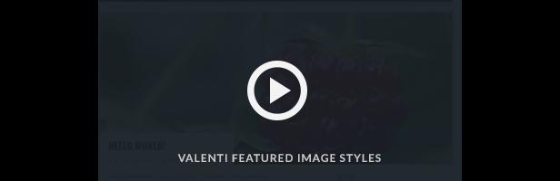 Valenti Parallax Ausgewähltes Bild Video demo
