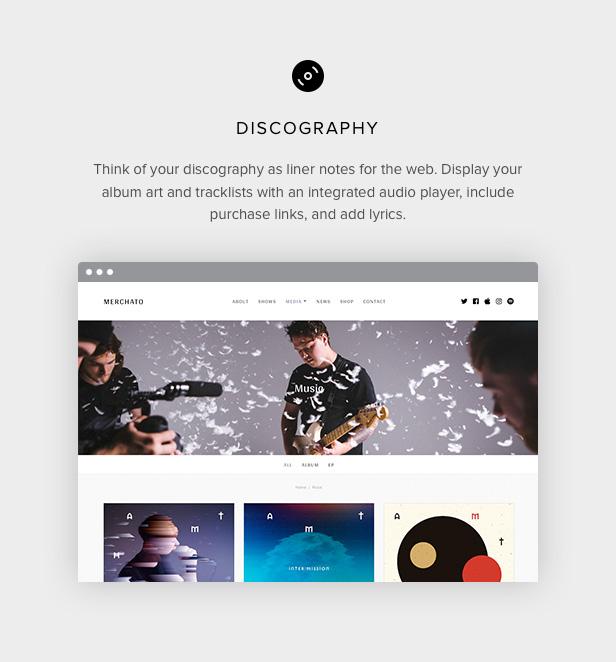 Merchato Diskographie und Tracks