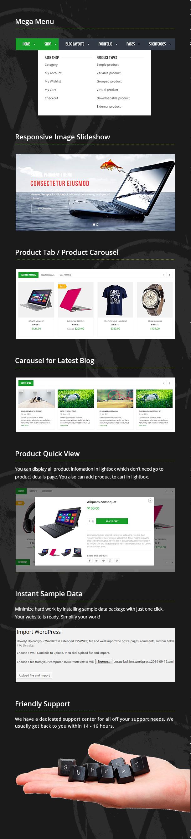VG Bonnie - Kreative WooCommerce WordPress Template