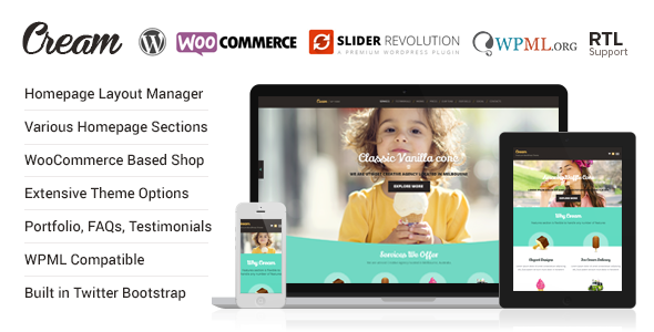 Creme - WooCommerce WordPress Template