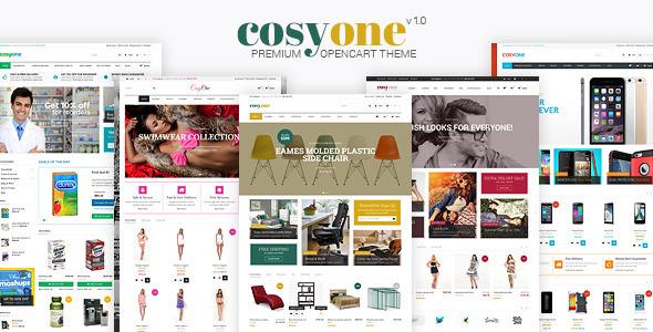 "CosyOne - Premium Mehrzweck Opencart Vorlage ""title ="" CosyOne - Premium Mehrzweck Opencart Vorlage"