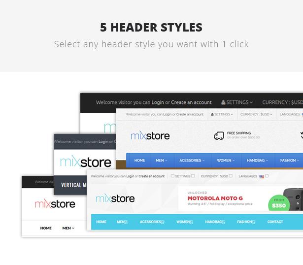 MixStore - MultiShop WooCommerce Template