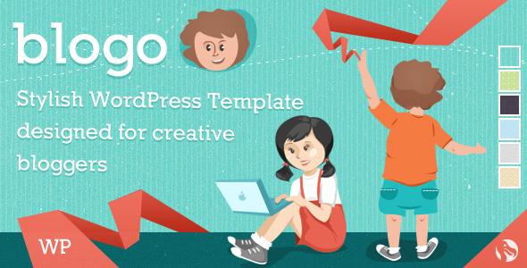 Blogo - Responsive WP Template für kreative Blogger