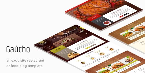 Gaucho - Essen & Restaurant WP Thema
