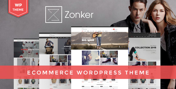 Zonker - WooCommerce WordPress Template