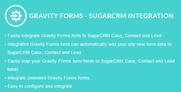 Gravity Forms - SugarCRM-Integration