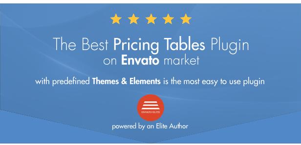 Einfache Preistabellen WordPress Plugin