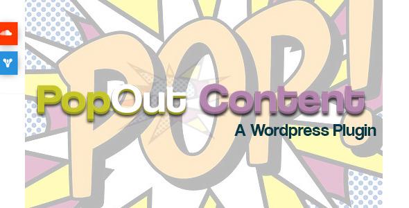 PopOut-Inhalt für WordPress