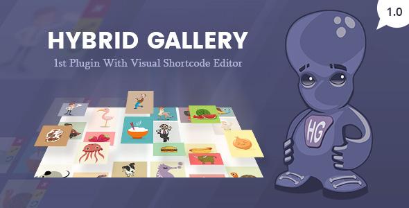 Hybrid Galerie   Visual Gallery Plugin für WordPress