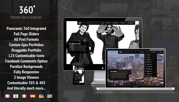 360 - Panorama-WordPress-Layout