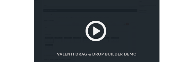 Drag & Drop Builder Video